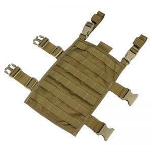 Panel rectangular para la pierna con sistema MOLLE Flyye en Coyote Brown