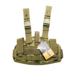 Funda versátil para pistola Flyye con sistema MOLLE en MultiCam