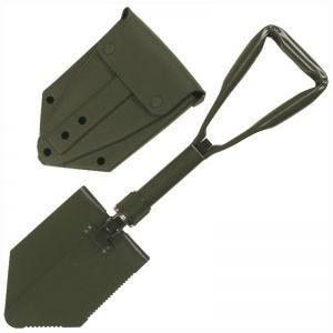 Pala plegable MFH German Army con funda en verde oliva