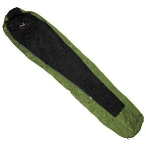 Saco de dormir Fox Outdoor Duralight en OD Green / negro