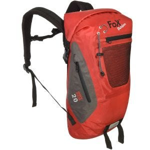 Mochila impermeable Fox Outdoor DRY PAK 20 en rojo