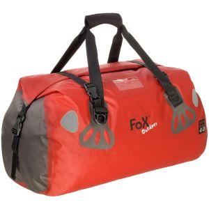 Bolsa de viaje impermeable Fox Outdoor DRY PAK 40 en rojo