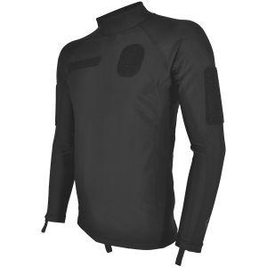 Camiseta de buceo Hazard 4 Base de licra en negro