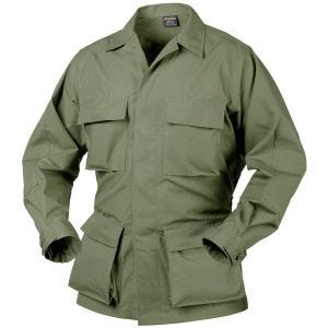 Camisa Helikon Genuine BDU de Ripstop de polialgodón en verde oliva