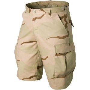 Pantalones cortos Helikon Genuine BDU de Ripstop de algodón en Desert 3 Colores