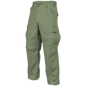 Pantalones Helikon Genuine BDU de Ripstop de polialgodón en verde oliva