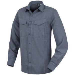 Helikon Defender Mk2 Gentleman Shirt Long Sleeve Melange Black-Grey
