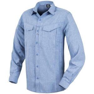Helikon Defender Mk2 Gentleman Shirt Long Sleeve Melange Light Blue