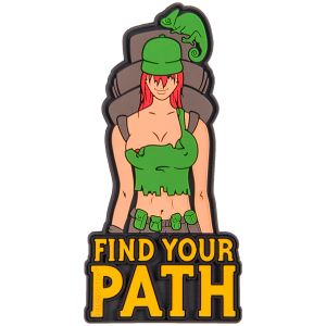 Parche Helikon Find Your Patch en Olive Green