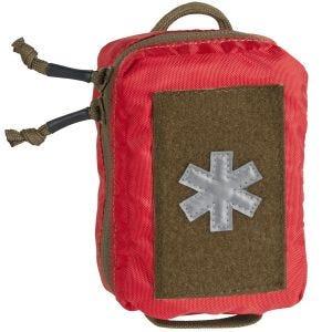 Botiquín de poliéster Helikon Mini Med Kit en rojo