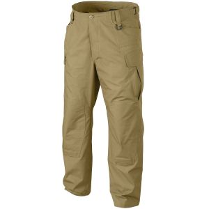 Pantalones Helikon SFU NEXT de Ripstop de polialgodón en Coyote