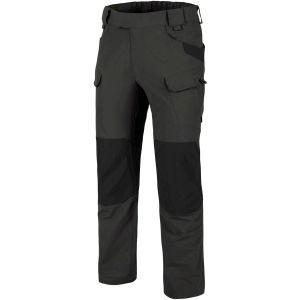 Pantalones Helikon Outdoor Tactical en Ash Grey/negro