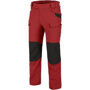Pantalones Helikon Outdoor Tactical en Crimson Sky/negro