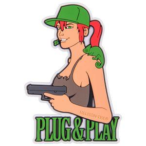 Parche Helikon Plug & Play en marrón
