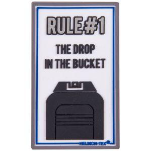 Parche Helikon Rule#1 en blanco