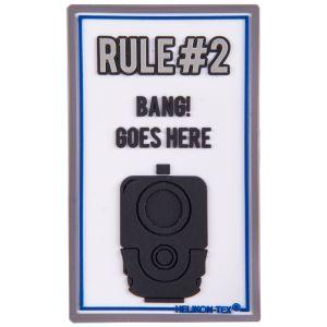 Parche Helikon Rule#2 en blanco