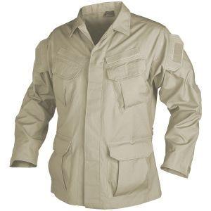 Camisa Helikon SFU de Ripstop de algodón en caqui