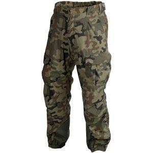 Pantalones ligeros Helikon Level 5 Ver. II en Woodland polaco
