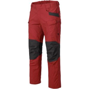 Pantalones Helikon UTP de Ripstop en Crimson Sky/Ash Grey