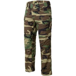 Pantalones Helikon UTP de Ripstop en US Woodland
