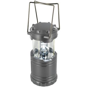 Linterna plegable Highlander con 7 luces LED en gris