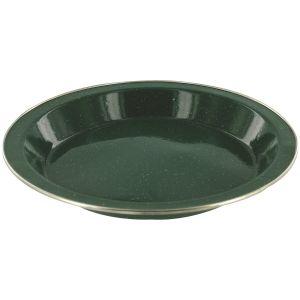 Plato Highlander Deluxe esmaltado en verde