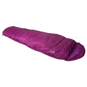 Saco de dormir momia Highlander Sleepline 250 en rosa