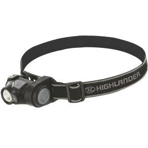 Linterna frontal Highlander una luz LED CREE brillante de 3W en negro