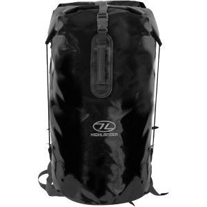 Saco marinero Highlander Troon Drybag de 70 l en negro