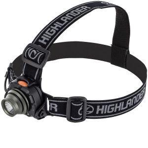 Linterna frontal Highlander Wave con luz Cree de 3 W y sensor