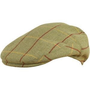 Jack Pyke Wool Blend Flat Cap Tweed