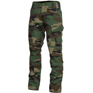 Pantalones de combate Pentagon ACU en Woodland