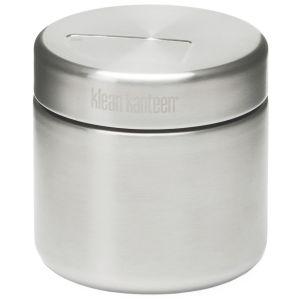 Lata para comida Klean Kanteen de pared simple y capacidad de 473 ml en Brushed Stainless