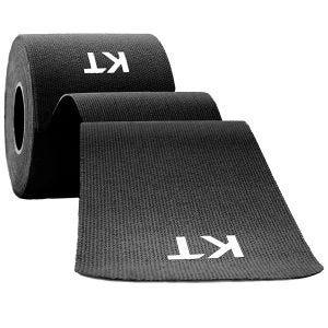 Cinta adhesiva de algodón KT Tape sin cortar en negro