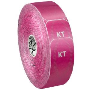 Cinta adhesiva KT Tape Synthetic Pro tiras individuales en rollo grande en Hero Pink