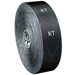 Cinta adhesiva KT Tape Synthetic Pro tiras individuales en rollo grande en Jet Black