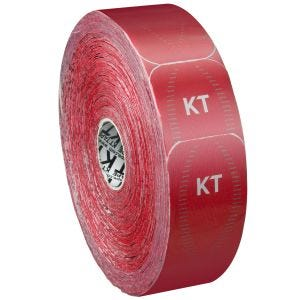 Cinta adhesiva KT Tape Synthetic Pro tiras individuales en rollo grande en Rage Red