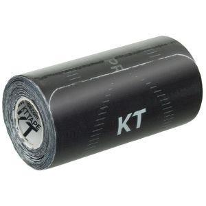 Cinta adhesiva KT Tape Pro Wide tiras individuales en negro