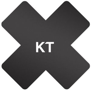 Parches KT Tape Pro-X Synthetic pack de 15 en negro