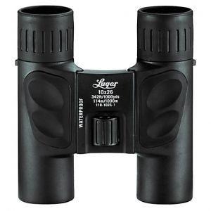 Prismáticos Luger LR 10x26 en negro