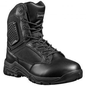 Botas impermeables Strike Force 8.0 con cremallera lateral en negro