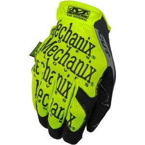 Guantes Mechanix Wear CR5 Original en Hi-Viz en Gris Amarillento