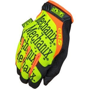 Guantes Mechanix Wear CR5 Original en Hi-Viz Yellow