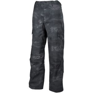 Pantalones de combate MFH ACU de Ripstop en HDT Camo LE