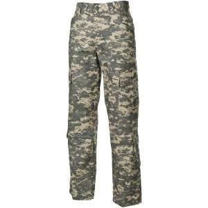 Pantalones de combate MFH ACU de Ripstop en ACU Digital
