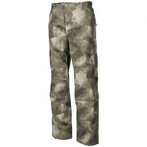 Pantalones MFH ACU Combat de Ripstop en HDT Camo AU