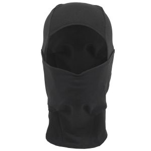 Pasamontañas MFH con una abertura de elastano ligero en negro