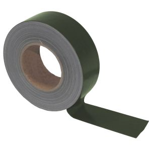 Cinta adhesiva de tela MFH BW de 5cm x 50m en OD Green