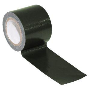 Cinta adhesiva de tela MFH BW de 5cm x 5m en OD Green