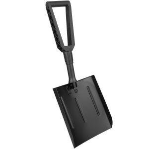 Pala plegable MFH de aluminio en negro